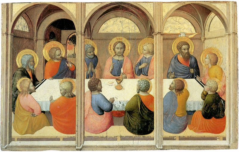 Institution-of-the-eucharist--Sassetta--Siena_Pinacoteca